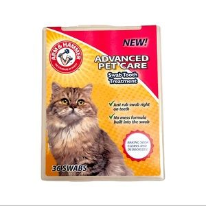 Arm & Hammer Advanced Pet Care Tooth Swabs NEW